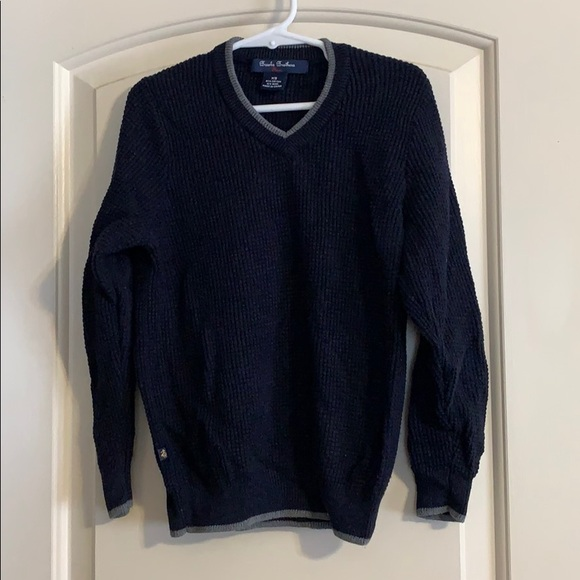 Brooks Brothers Cotton/Wool Sweater Boys XS